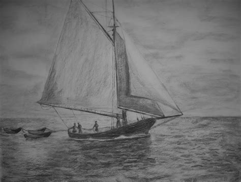 boat underwater drawing pin old sailboat drawing on pinterest