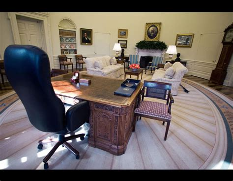 inside the oval office the famous office of the president situated inside the