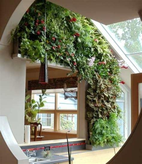 Vertikaler Garten Innenraum by Gr 252 Ner Vertikaler Garten Im Innenraum Stilvoll Und