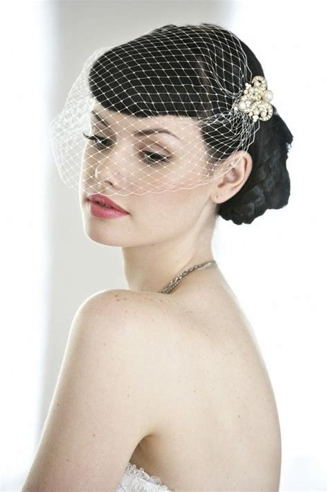 Wedding Hair Birdcage Veil by Best 20 Vintage Birdcage Veils Ideas On