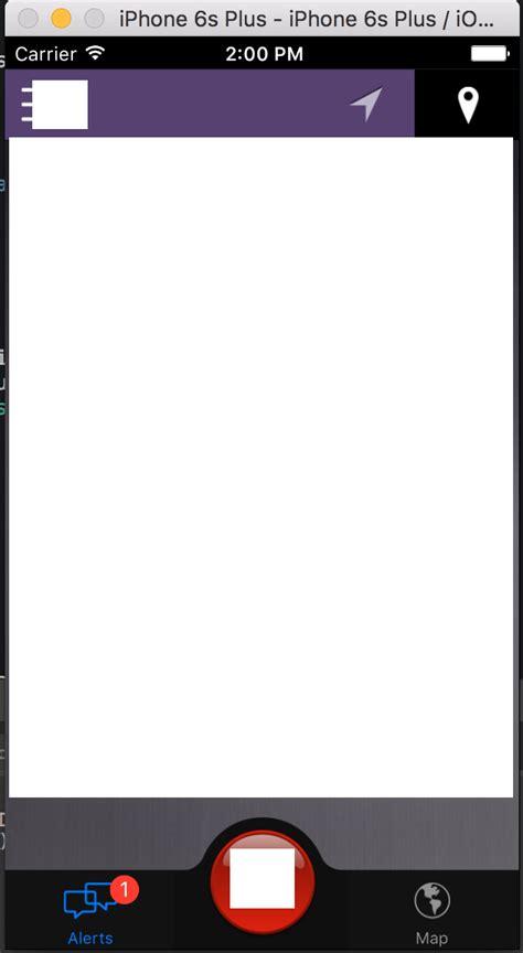 xamarin tab bar tutorial xamarin tab bar shows outside of screen stack overflow