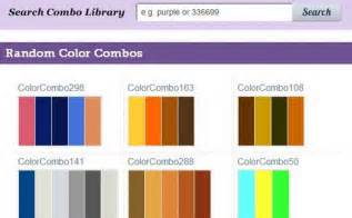Color combinations and color schemes best color tools for web
