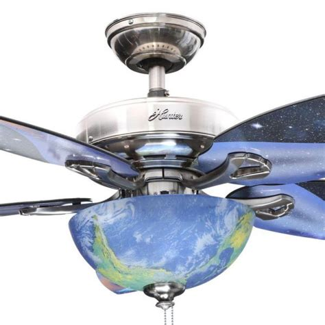discovery ceiling fan discovery 48 in indoor brushed nickel ceiling fan