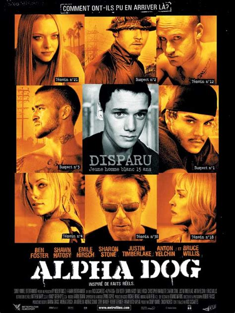 alpha dogs alpha critique bande annonce affiche dvd t 233 l 233 chargement