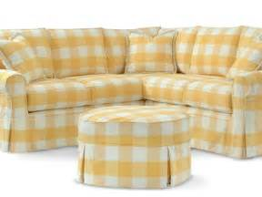 Plaid Loveseat Slipcovered Furniture And Cottage Seating Cottage Home 174
