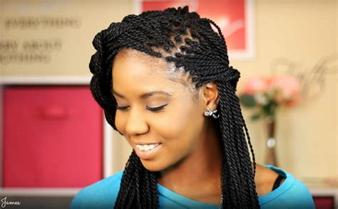 what kinda hair fo they use dor seegales teist senegalese twist hairstyles how types hair medium hair