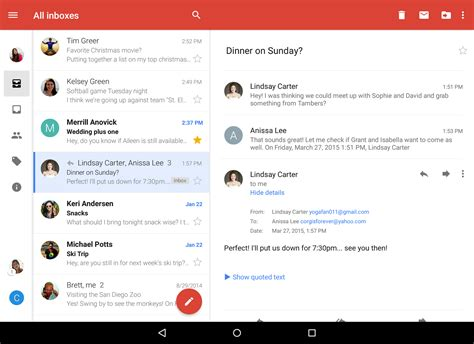 Android Search Email Official Gmail All Your Mail Together In One Place