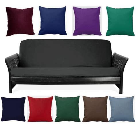 free futon black size futon cover choose favorite color of