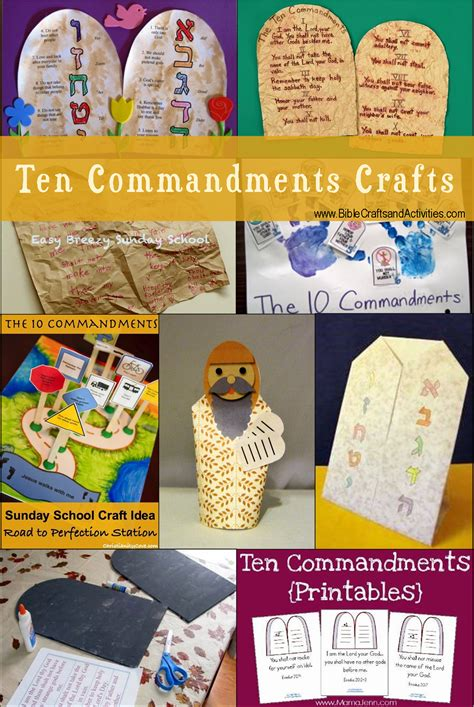 ten commandments crafts for 1000 images about church bible moses 10 commandments