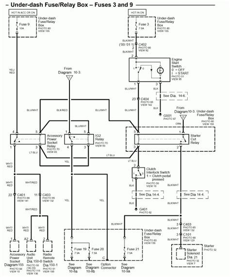 s2000 fuse box diagram wiring wiring diagram for cars