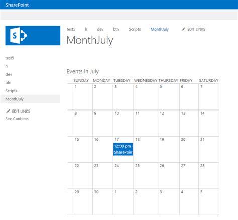 sharepoint calendar template sharepoint calendar web part 187 calendar template 2017