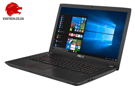 Buy Asus Laptop I7 buy asus fx753vd i7 gtx 1050 gaming laptop with 256gb ssd free shipping at evetech co za