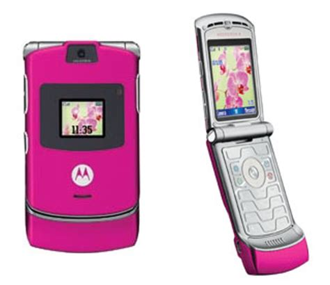 motorola razr  flip camera bluetooth pink phone att