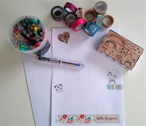 Make Your Own Writing Paper - snail mail to inspire the reading residence