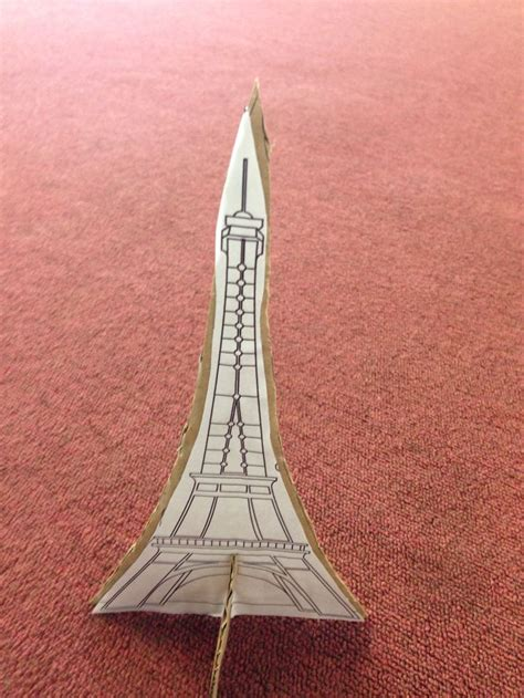 eiffel tower craft for eiffel tower crafts for