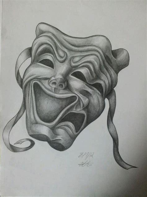 drama masks by magnasicparvis on deviantart