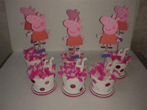 hacer con globos la pepa centros de mesa peppa pig