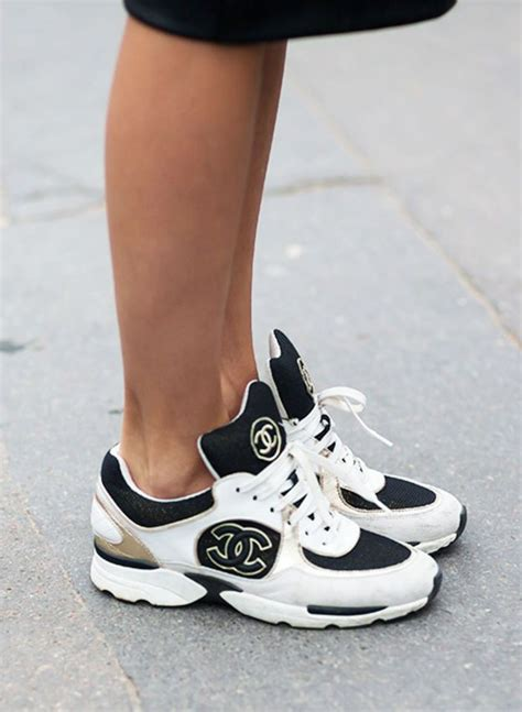 17 best ideas about chanel sneakers on chanel