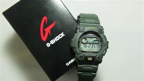 Casio Army casio g shock g 7900 3dr army colour