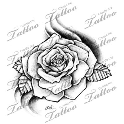 tattoo design marketplace marketplace tattoo rose 8379 createmytattoo com