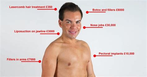 jonathan ken doll spends 160 000 to look like ken doll ny daily