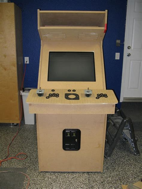 Awesome House Plans by Homemade Mame Cabinet Building An Arcade Machine From