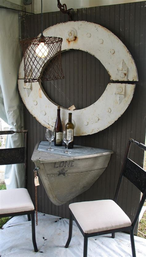 boat decor for home 10 antique and vintage boats make stylish home decorations