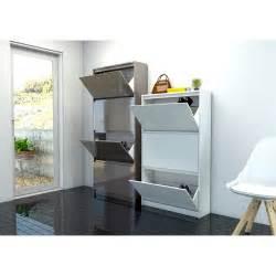tvilum 71007 bright 4 drawer shoe cabinet