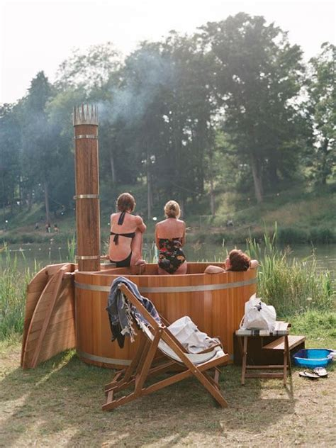 outdoor bathtub wood fired 80 best images about wood fired hot tubs on pinterest