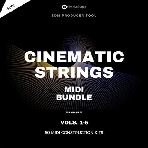 Vst Cinematic Strings 2 1 cinematic strings midi bundle vols 1 5 nano musik loops