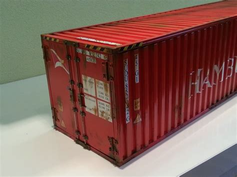 Container Selbst Lackieren by Container Auflieger Mit 40 Ft Container Quot Hamburg S 252 D
