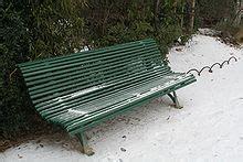 Banc De Parc A Vendre by Banc Wikip 233 Dia