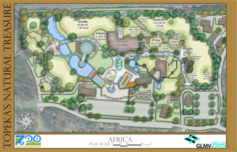 zoo design guidelines zoo master plan the topeka zoo