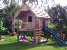 Backyard Treehouse For Kids - sarantonton casitas infantiles de cuento