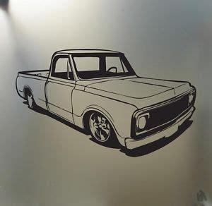 C10 Stickers chevy c10 1967 68 69 70 lowered sticker truck low
