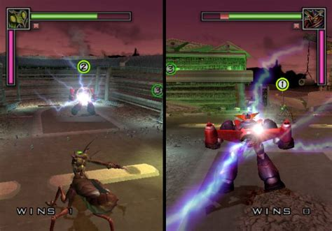 two player war of the monsters screenshot 27 playstation 2 the