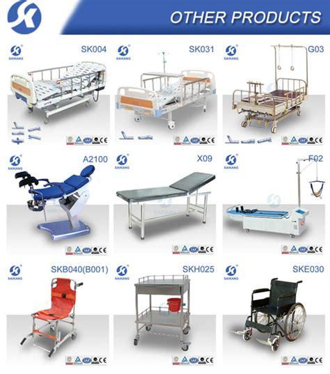 types of hospital beds hospital bed side rails metal bed frame wheels nursing bed
