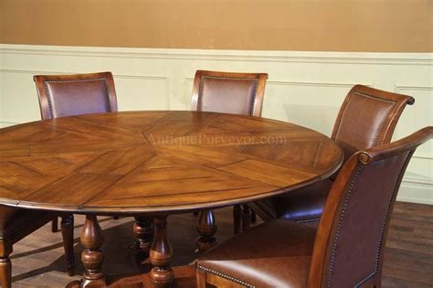 solid walnut dining round dining table with hidden leaves solid walnut