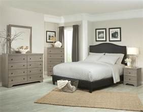 Gray Bedroom Furniture by 218 Kiths Raleigh Aged Grey Cypress Finished Bedroom Set
