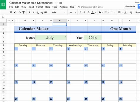 google docs calendar spreadsheet template qualads