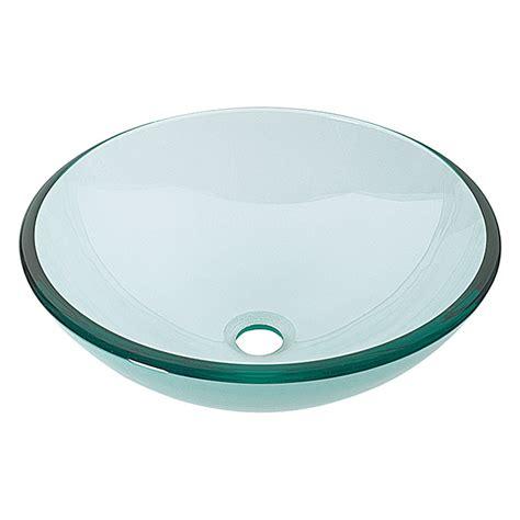 waschtisch glas cameo waschtisch durchmesser 42 cm glas klar bauhaus
