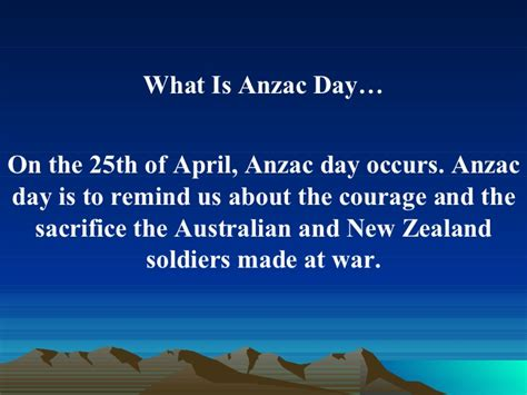 which day is anzac day
