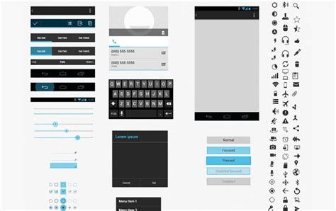 75 Gui Templates For Android And Ios 187 Css Author Application Ui Templates