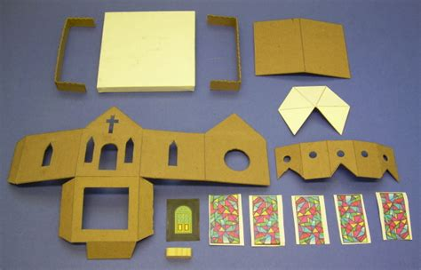 How To Make A Church Out Of Paper - building a glitterhouse howard s how to s from