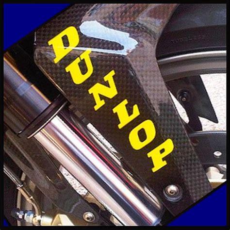 Decal Sticker Dtracker 150 Yellow Racing dunlop fork sticker yellow decals 6rr fast shipping zx6 r1 r6 gsxr fz16 fz07 zx7 ebay