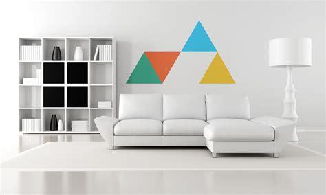 living room photography decora tus paredes con formas b 225 sicasblog de vinilos