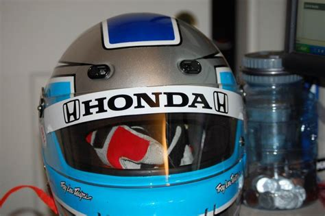 Stiker Helm Honda by Pic Request Green White Helmet With Honda Stickers