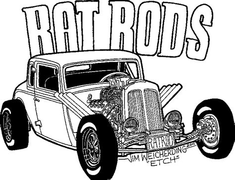 coloring pages rat rods hot rod coloring pages bestofcoloring com