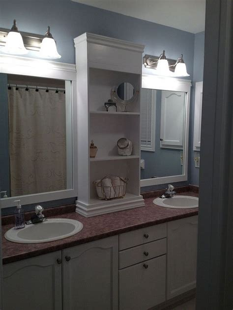 17 best ideas about large bathroom mirrors on