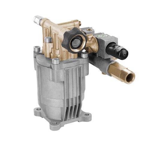 powerfit horizontal brass  psi maximum pressure washer